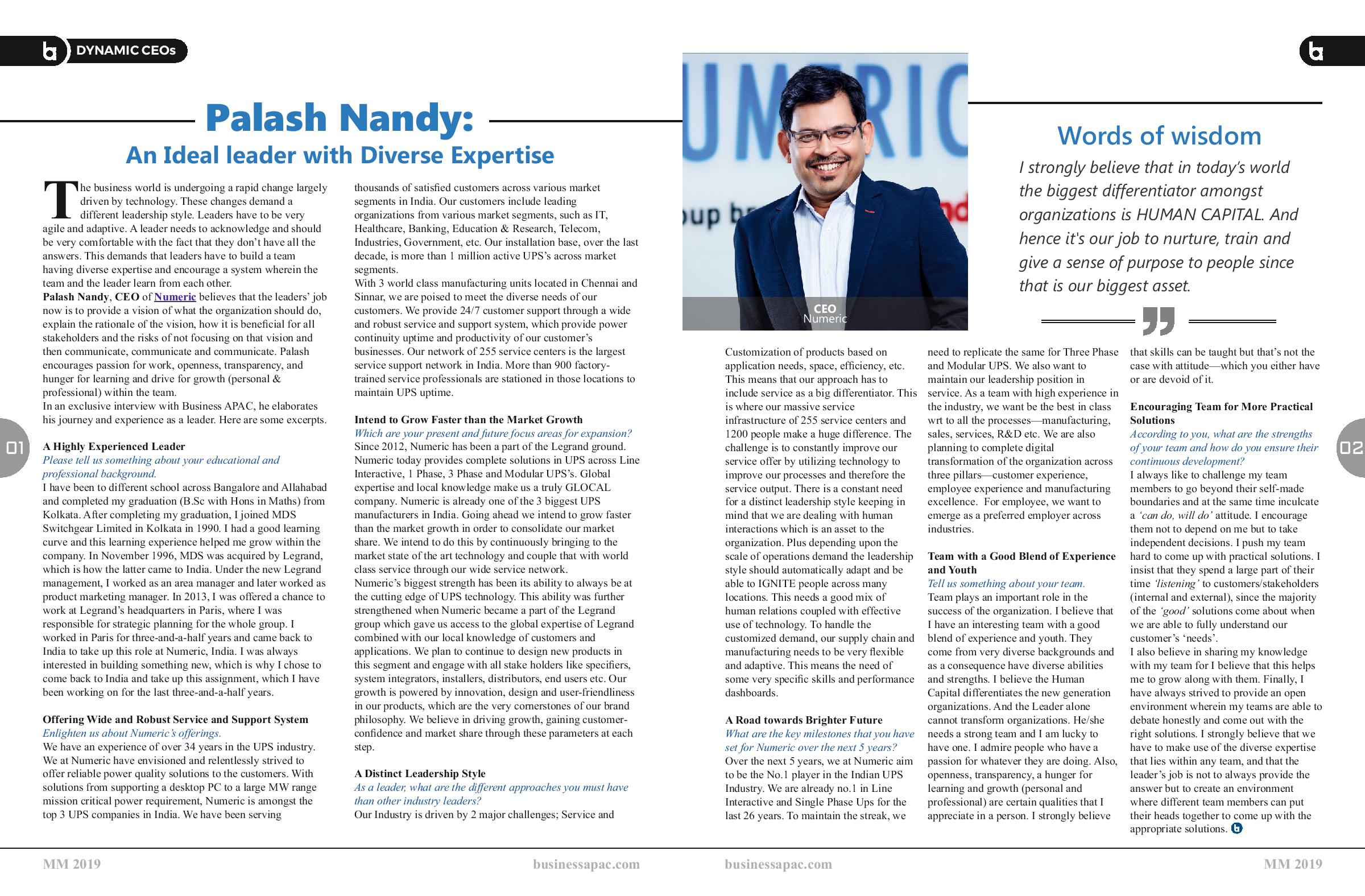 Business APAC Magazine